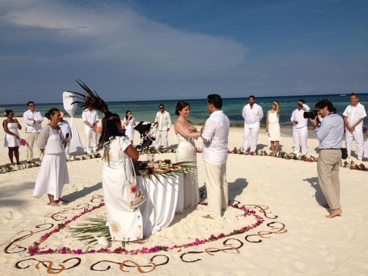 boda maya ritual