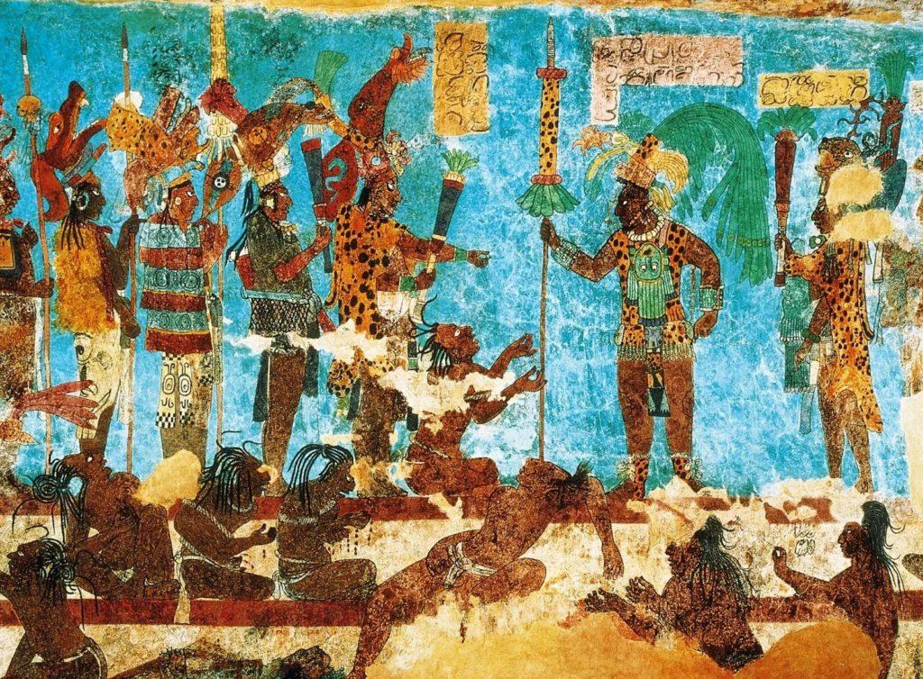 rituales y sacrificios mayas