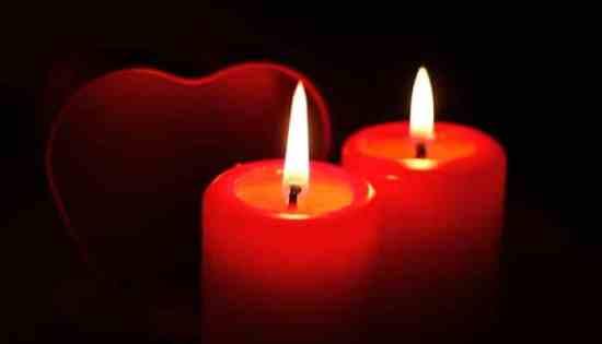 Rituales de amor - velas rojas
