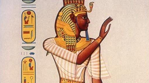 hombres egipcios conjuros