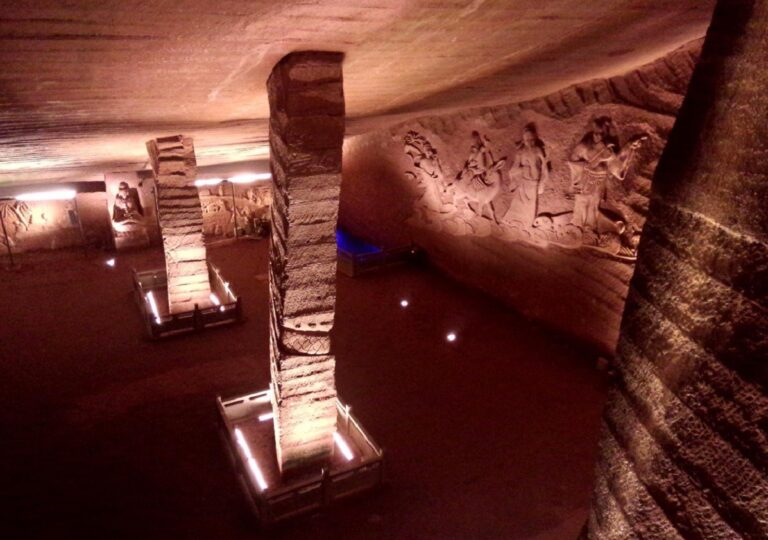 misteriosas cuevas de Longyou